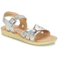 kengät Tytöt Sandaalit ja avokkaat Start Rite SR SOFT HARPER Silver