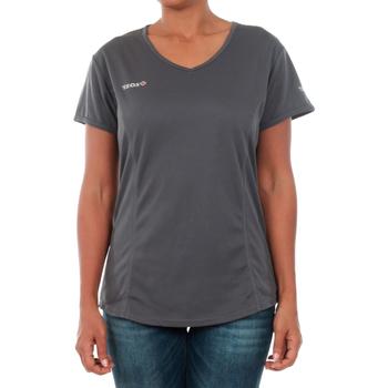vaatteet Naiset Lyhythihainen t-paita Izas ADAIA DARK GREY Gris oscuro