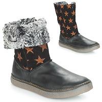 kengät Tytöt Saappaat Achile DUBROVNIK Black / Cuivré