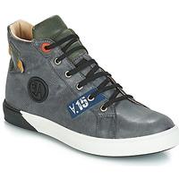 kengät Pojat Saappaat GBB SILVIO Nuv / Plaid sininen / violetti / Dpf / Evoque
