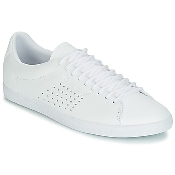 kengät Naiset Matalavartiset tennarit Le Coq Sportif CHARLINE LEATHER White
