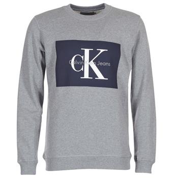 vaatteet Miehet Svetari Calvin Klein Jeans HOTORO REGULAR Grey
