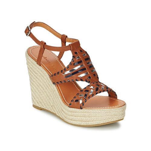 kengät Naiset Sandaalit ja avokkaat Mellow Yellow SAKE Camel