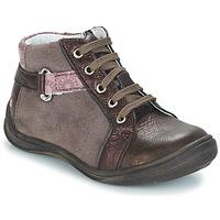 kengät Tytöt Bootsit GBB RICHARDINE Vaalenapunainen-viininpunainen / Dpf / Regina