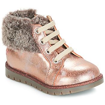 kengät Tytöt Korkeavartiset tennarit GBB RENATA Pink