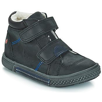 kengät Pojat Bootsit GBB ROBERT Black / Dch
