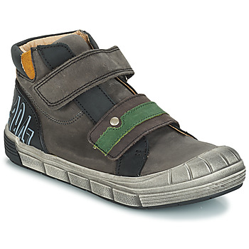 kengät Pojat Korkeavartiset tennarit GBB REMI Grey