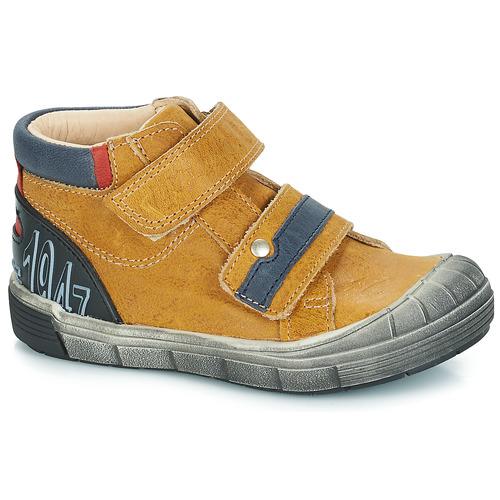 kengät Pojat Bootsit GBB REMI Camel