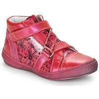 kengät Tytöt Korkeavartiset tennarit GBB RADEGONDE Vaaleanpunainen