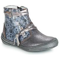 kengät Tytöt Saappaat GBB REVA Grey / Sininen-kuvioitu / Dpf
