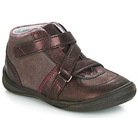 kengät Tytöt Bootsit GBB RIQUETTE Ruskea / Pronssi
