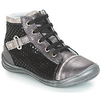 kengät Tytöt Korkeavartiset tennarit GBB ROMIE Black / Grey