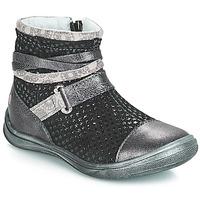 kengät Tytöt Bootsit GBB ROCHELLE Grsi / Black