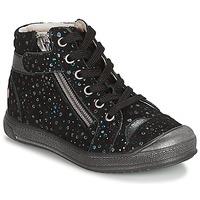 kengät Tytöt Bootsit GBB DESTINY Black / Confetti / Dpf / Edit