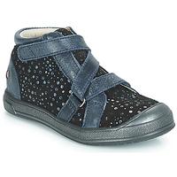 kengät Tytöt Korkeavartiset tennarit GBB NADEGE Blue / Black