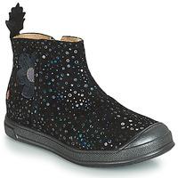 kengät Tytöt Bootsit GBB ROMANE Black