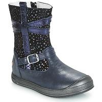 kengät Tytöt Bootsit GBB NARCISSE Sininen-confetti / Dpf / Edit