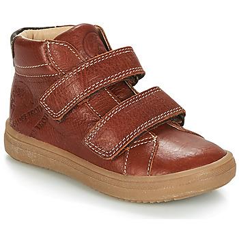 kengät Pojat Bootsit GBB NAZAIRE Brown