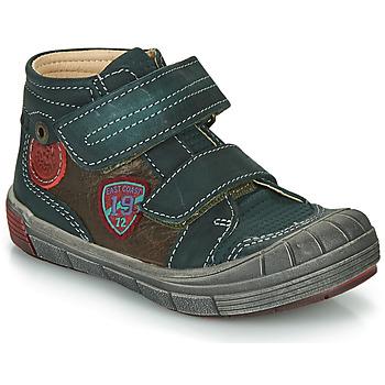 kengät Pojat Bootsit Catimini ROMARIN Green / Brown