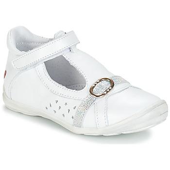 kengät Tytöt Sandaalit ja avokkaat GBB SALOME White / Dpf / Festa