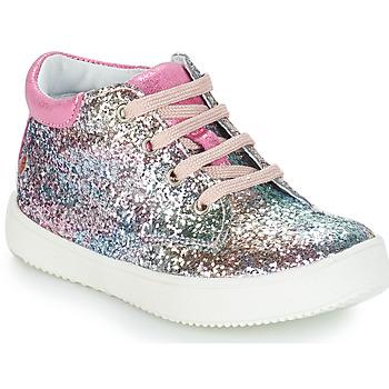 kengät Tytöt Bootsit GBB SACHA Pink / Monivärinen / Dpf