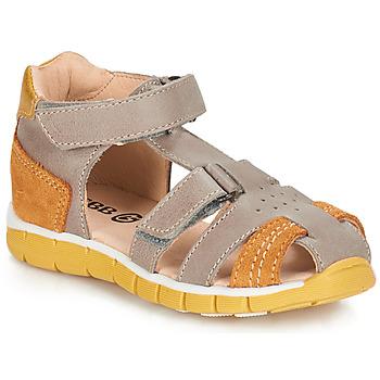 kengät Pojat Sandaalit ja avokkaat GBB SPARTACO Grey / Orange