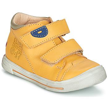 kengät Pojat Bootsit GBB SAMY Yellow