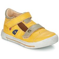 kengät Pojat Sandaalit ja avokkaat GBB STEVE Yellow