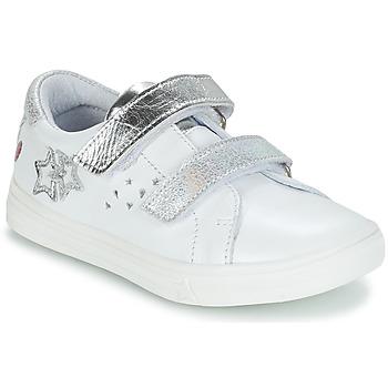 kengät Tytöt Saappaat GBB SANDRA White / Silver