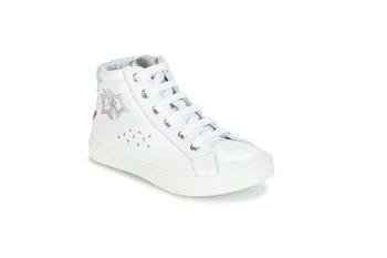 kengät Tytöt Bootsit GBB SERAPHINE Valkoinen-argent / Dpf / Dolby