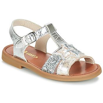 kengät Tytöt Sandaalit ja avokkaat GBB SHANTI Argenté / Dpf / 2794