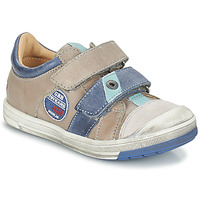 kengät Pojat Bootsit GBB SERGE Grey / Blue