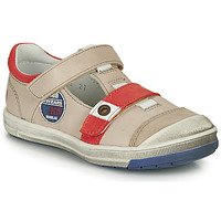 kengät Pojat Bootsit GBB SCOTT Beige-punainen / Dpf