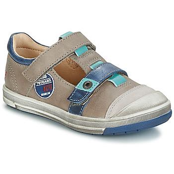 kengät Tytöt Balleriinat GBB SCOTT Grey / Blue