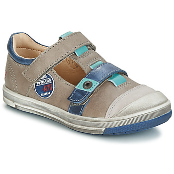 kengät Pojat Bootsit GBB SCOTT Grey / Blue