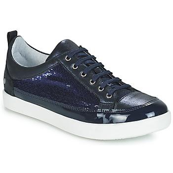 kengät Tytöt Matalavartiset tennarit GBB ISIDORA Blue / Laivastonsininen