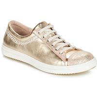 kengät Tytöt Bootsit GBB GINA Beige-kultainen / Dpf / 2835