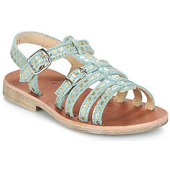 kengät Tytöt Sandaalit ja avokkaat GBB BANGKOK Sininen-pilkullinen / Dore / Dpf / Coca