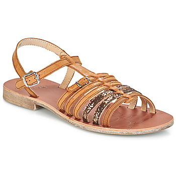 kengät Tytöt Sandaalit ja avokkaat GBB BANGKOK Ruskea-paljetti   Dpf   Coca cc4492e5f2