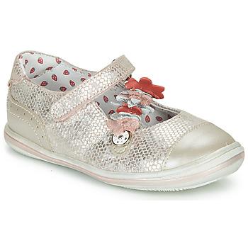 kengät Tytöt Balleriinat Catimini STROPHAIRE Vaaleanpunainen
