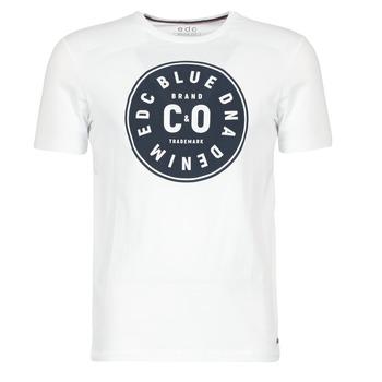 vaatteet Miehet Lyhythihainen t-paita Esprit GRAHAM White