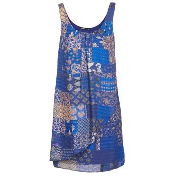 vaatteet Naiset Lyhyt mekko Desigual OFFOELA Blue