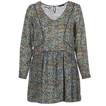 vaatteet Naiset Lyhyt mekko Kaporal VERA Beige / Monivärinen