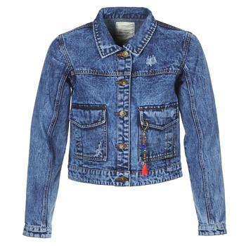 vaatteet Naiset Farkkutakki Kaporal BUCHE Sininen