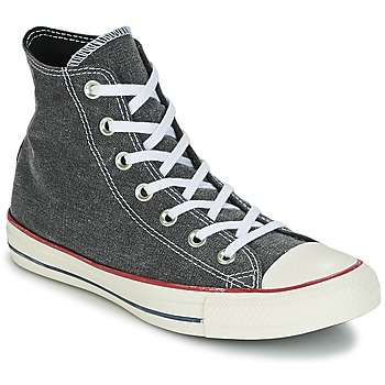 kengät Korkeavartiset tennarit Converse Chuck Taylor All Star Hi Stone Wash Grey