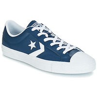 kengät Miehet Matalavartiset tennarit Converse Star Player Ox Leather Essentials Laivastonsininen