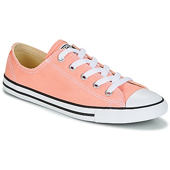 kengät Naiset Matalavartiset tennarit Converse Chuck Taylor All Star Dainty Ox Canvas Color Pink