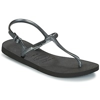 kengät Naiset Sandaalit ja avokkaat Havaianas FREEDOM SL Black