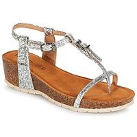kengät Naiset Sandaalit ja avokkaat Les Petites Bombes KISS Hopea