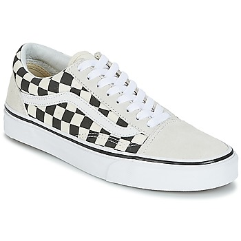 kengät Matalavartiset tennarit Vans OLD SKOOL White / Black